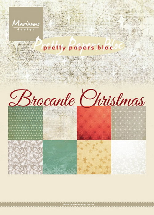 Pretty Papers Bloc - Brocante Christmas