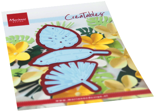 Creatables Marianne Design - tropical leaves