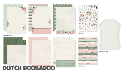 Dutch Doobadoo Set - Alison