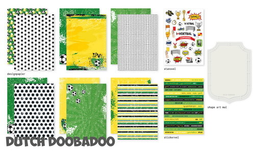 Dutch Doobadoo Set - voetbal