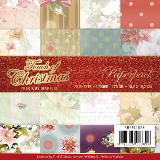 Paper Pack Precious Marieke - Touch of Christmas