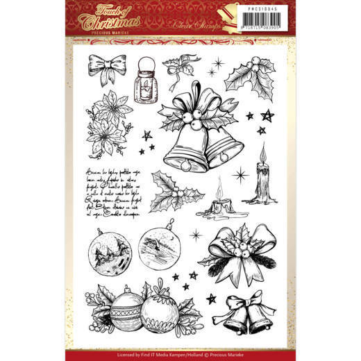 Clearstamps Precious Marieke - Touch of Christmas