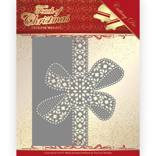 Precious Marieke Stans - Touch of Christmas - christmas bow border