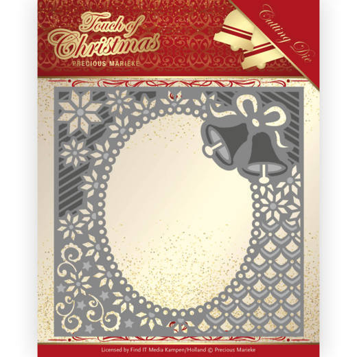 Precious Marieke Stans - Touch of Christmas - christmas bells frame