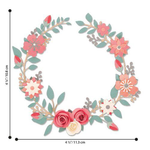 Sizzix Thinlits Set - wedding wreath