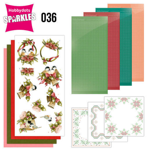 Hobbydots Sparkles Set 036 - touch of christmas