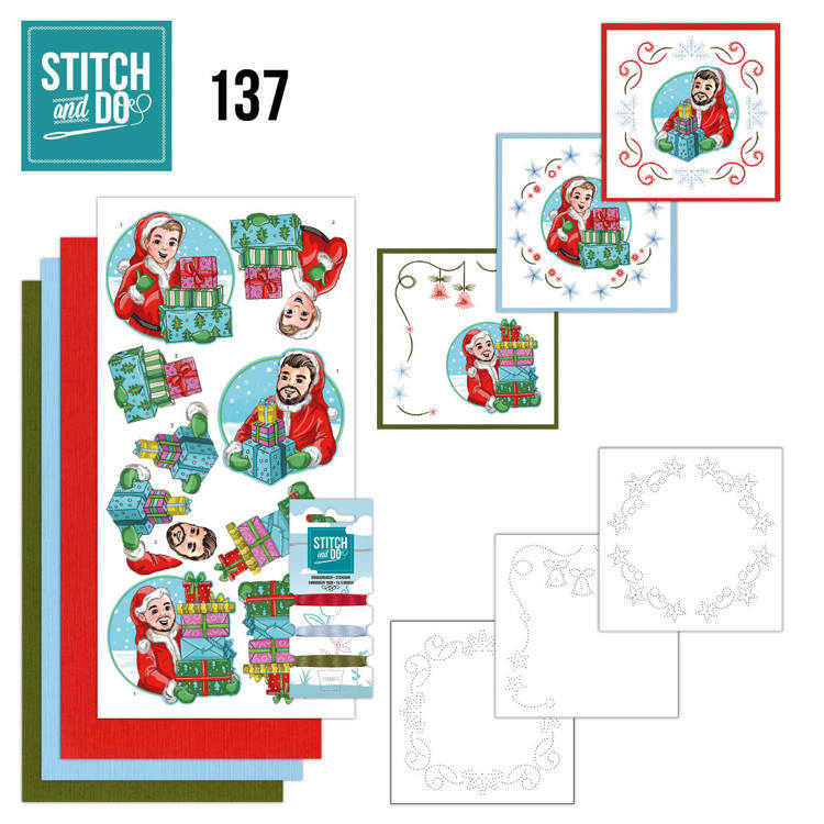 Stitch and Do Pakket 137 - Big Guys christmas