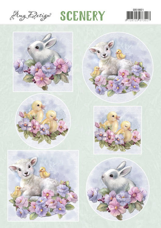 Stansvel Scenery - Amy Design - spring animals