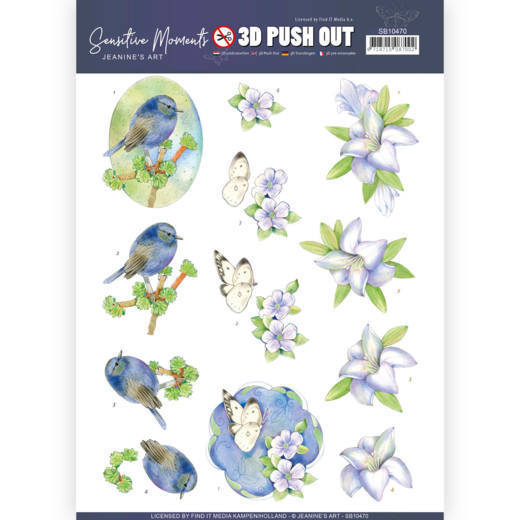 Stansvel Jeanine's Art - Sensitive Moments SB10470