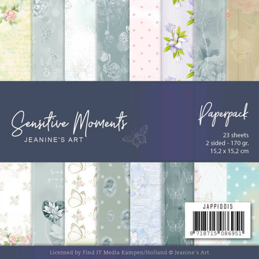 Paper Pack Jeanine's Art - Sensitive Moments