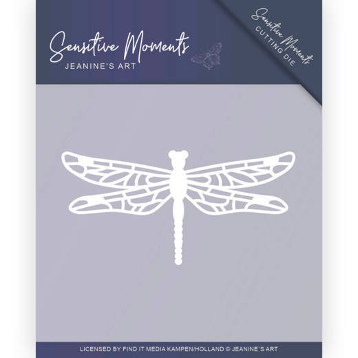 Jeanine's Art Stans - Sensitive Moments - dragonfly