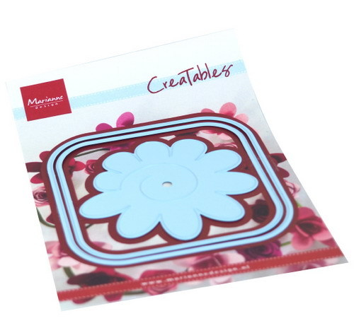 Creatables Marianne Design - square box and flower