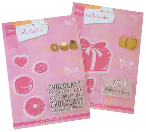 Marianne Design Set - chocolate collectables