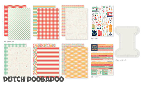 Dutch Doobadoo Set - one more stitch