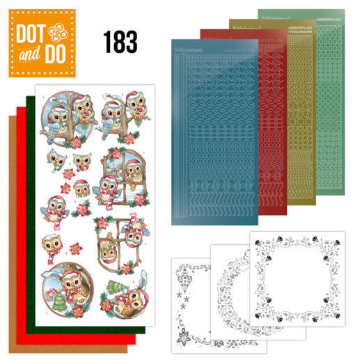 Dot & Do Hobbydots Pakket - Christmas Village