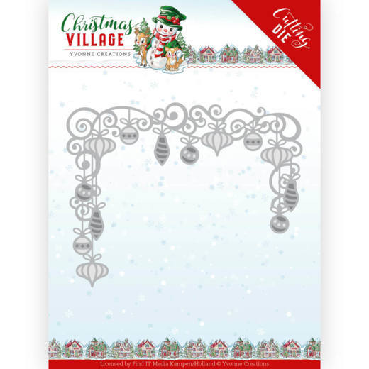 Yvonne Creations Stans - Christmas Village - christmas baubles