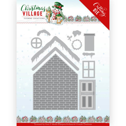 Yvonne Creations Stans - Christmas Village - build up house