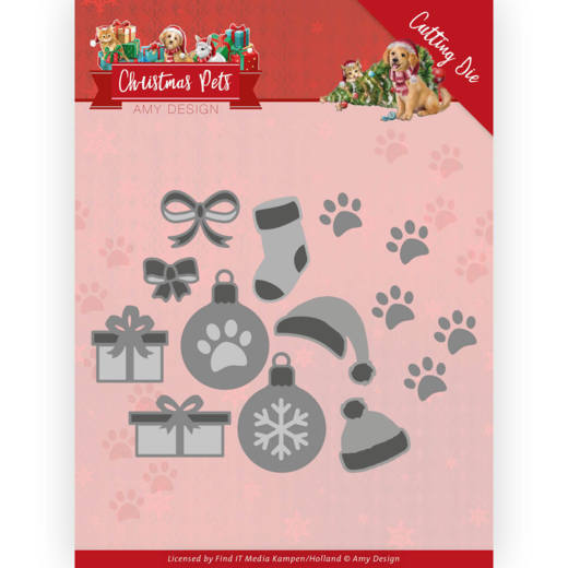 Amy Design Stans - Christmas Pets - decorations