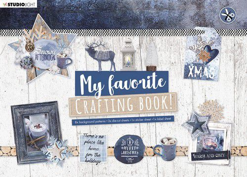 Studio Light My Favorite Crafting Book A4 - snowy afternoon