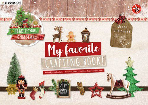 Studio Light My Favorite Crafting Book A4 - traditional christmas