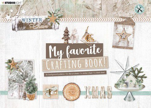 Studio Light My Favorite Crafting Book A4 - winter charm