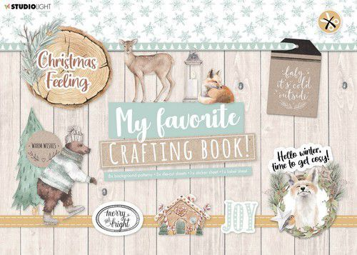 Studio Light My Favorite Crafting Book A4 - christmas feeling