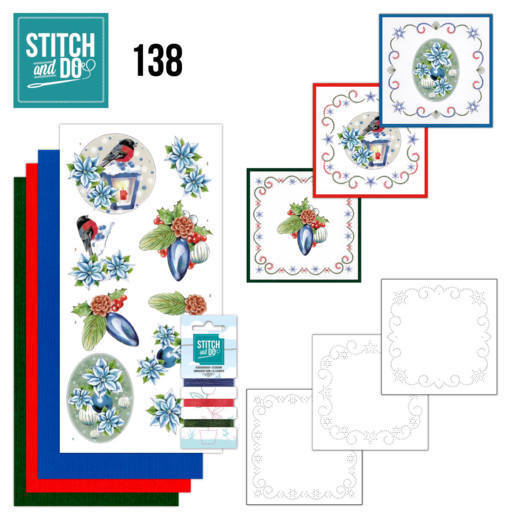 Stitch and Do Pakket 138 - christmas lantern