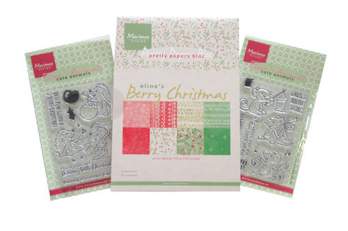 Marianne Design Set - berry christmas