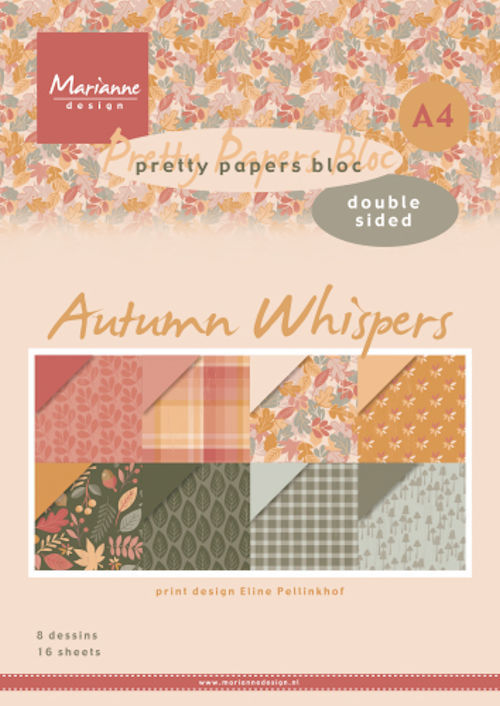 Pretty Papers Bloc - Autumn Whispers