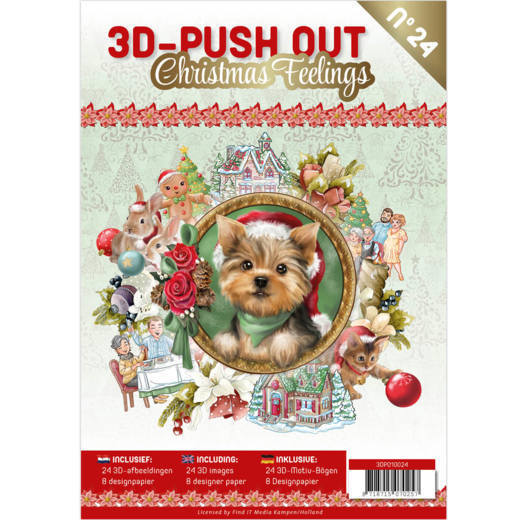 3D Push Out Book - christmas feelings