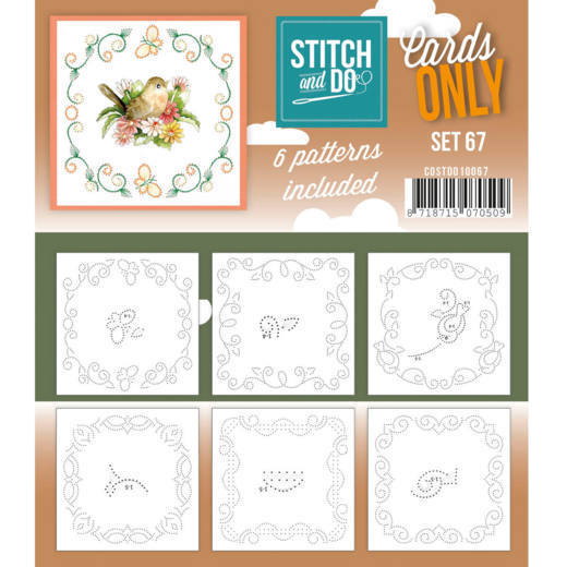 Stitch and Do Cards Only - set 67