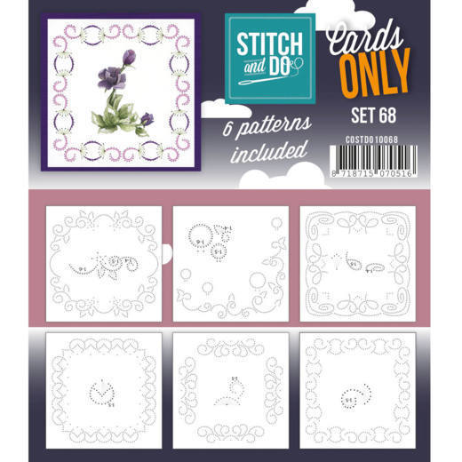 Stitch and Do Cards Only - set 68