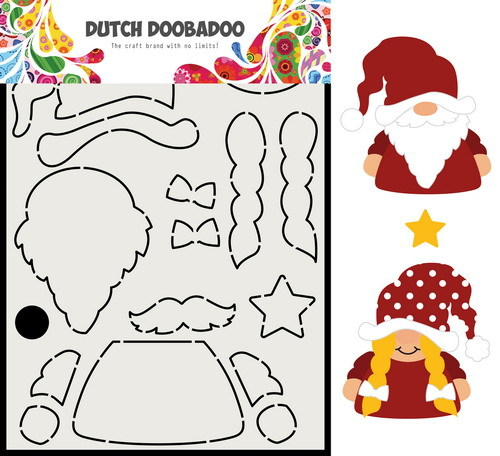 Dutch Doobadoo Shape Art - Build Up - gnome