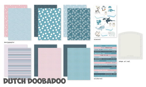 Dutch Doobadoo Set - Frosty Winter