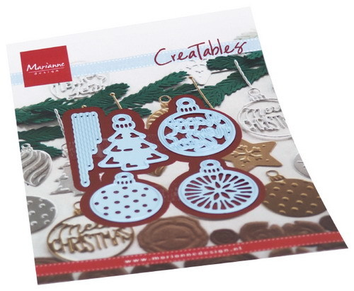 Creatables Marianne Design - merry christmas baubles