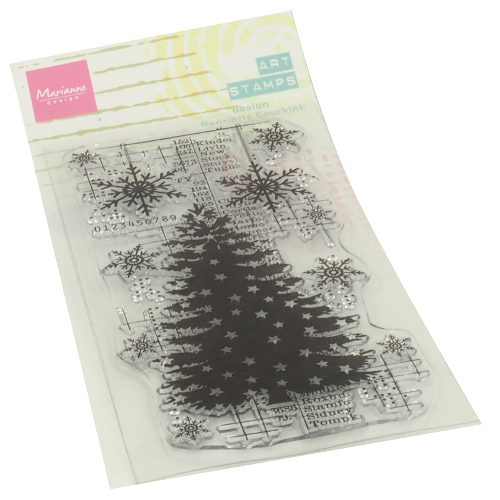 Marianne Design Art Stamps - christmas tree