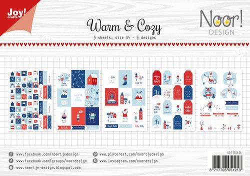 Joy Label Sheets - Warm & Cozy