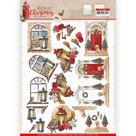 Knipvel Amy Design - Nostalgic Christmas CD11561