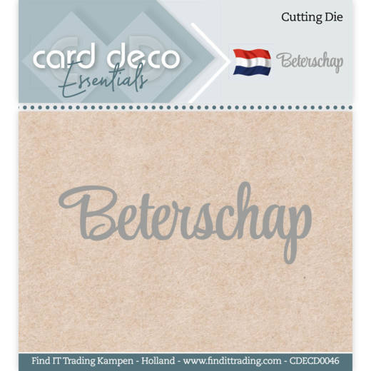 Card Deco Stans - beterschap