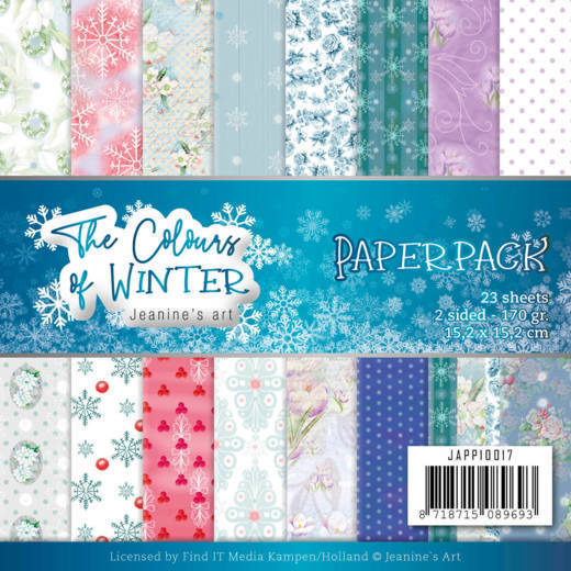 Paper Pack Jeanine's Art - The Colours of Winter