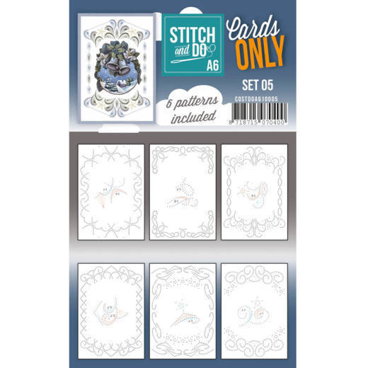 Stitch and Do Cards Only A6 - set 05
