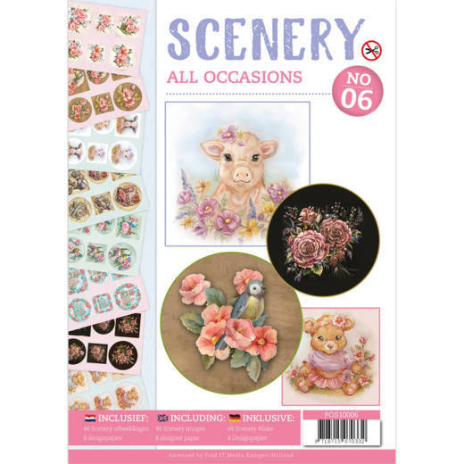 Push Out Book Scenery 06 - all occasions