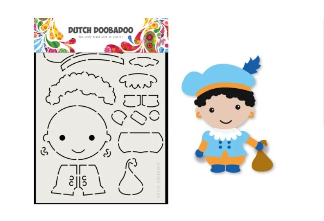Dutch Doobadoo Card Art - Piet