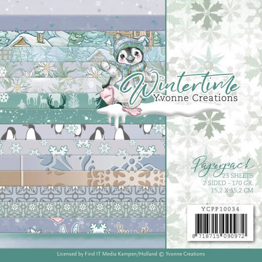 Paper Pack Yvonne Creations - Winter Time