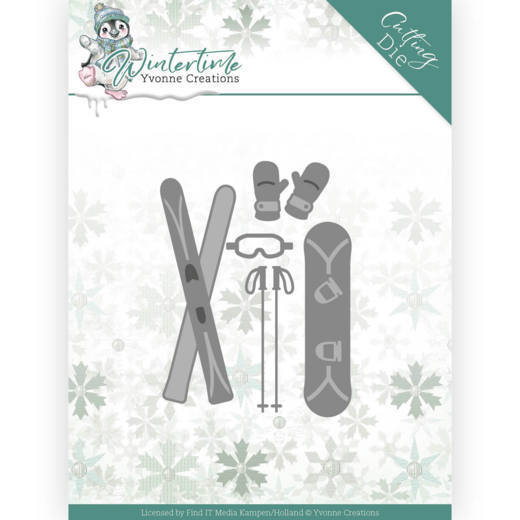 Yvonne Creations Stans - Winter Time - ski accessories