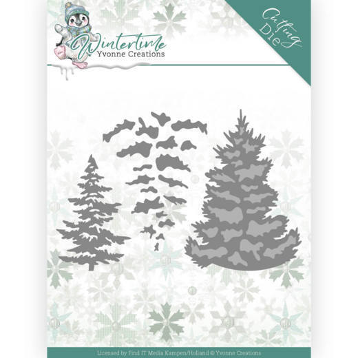 Yvonne Creations Stans - Winter Time - pine tree