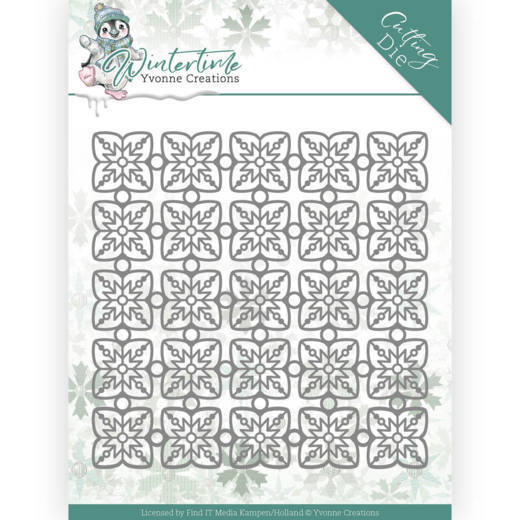 Yvonne Creations Stans - Winter Time - snowflake pattern