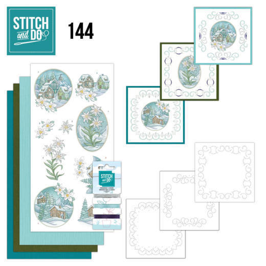 Stitch and Do Pakket 144 - winter time