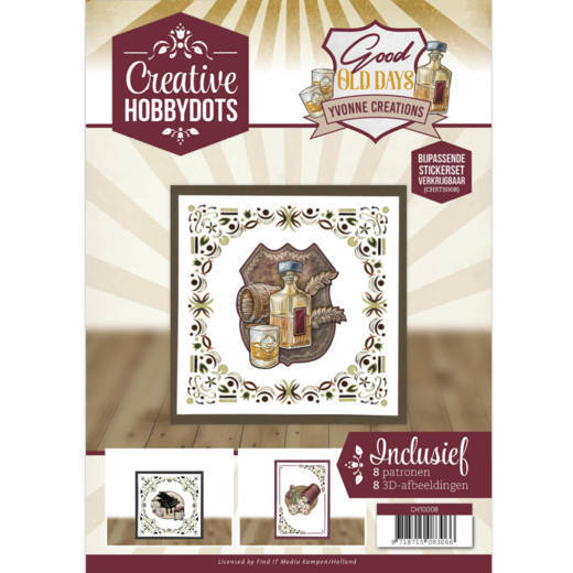 Creative Hobbydots 8 - Yvonne Creations - Good Old Days