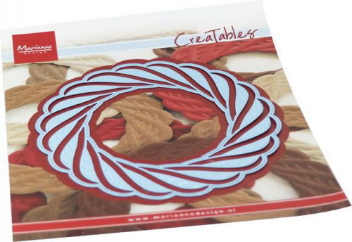 Creatables Marianne Design - wicker wreath